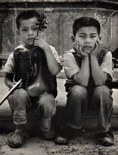 The people of #Mexico: Aspirantesa Musicos (Pepe & Daniel Aguascalientes), México  Photo by Reva Brooks