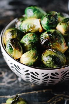 These Roasted Honey Sriracha Brussels Sprouts are incredibly easy and addictive.