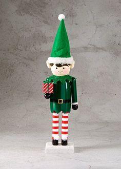 Elf Christmas Nutcracker (44cm x 11cm)