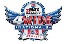 NHRA Four-Wide Nationals Weekend Schedule