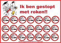 Beloningskaart stoppen met roken
