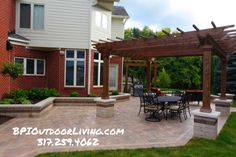 ‪Is your backyard ready to entertain friends and family this Spring?‬  ‪Let us design a unique Outdoor Living Area perfect for your home! #outdoorliving #backyard #bpi‬