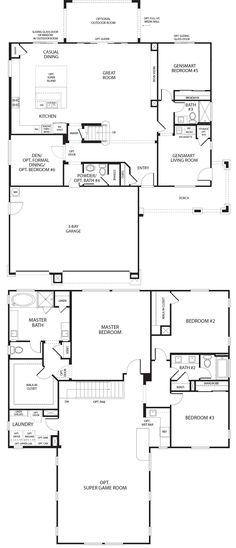 39 Best Multigenerational House Plans Images House Plans