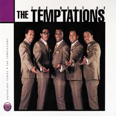 The Temptations (Motown) - Anthology Cd Good Music, My Music, Music Icon, Live Music, Old School Music, Soul Funk, Great Albums, Kinds Of Music, Logitech