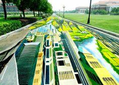 etsi: Το μεγαλύτερο 3D ζωγραφικό έργο σε δρόμο!