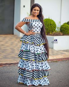 Latest Trendy Ankara Styles To Slay This Weekend African Attire, African Wear, African Dress, Latest African Fashion Dresses, African Print Fashion, Ankara Fashion, Long Ankara Dresses, African Inspired Clothing, Ankara Styles For Women