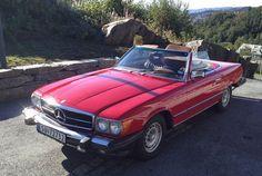 Mercedes-Benz SL 450 1977, 176 736 km, kr 99 000,- Mangler hardtop-