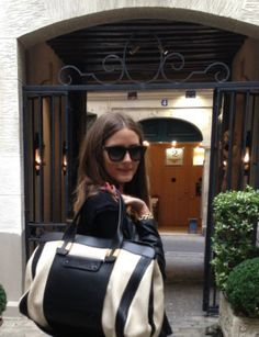 Olivia Palermo looking chic!