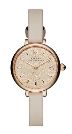 Marc Jacobs Sally Band 28MM in Papyrus/ Rose