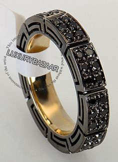 VERSACE Black Diamond Bracelet