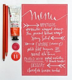 Wedding Calligraphy Ideas  { color n callig; luv photo stylin', 2 }