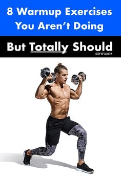 Boost your warm up routine with these 8 optimal warm up exercises. These 8 reliable exercises will fully warm up your body and prevent injury. Plyometric Workout, Squat Workout, Quick Weight Loss Diet, Weight Loss Program, Workout Plan For Men, Workout Plans, Bodyweight Strength Training, Weight Trainer, Increase Muscle Mass