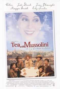 Tea with Mussolini, directed by Franco Zeffirelli, includes all the greatest monuments in Florence such as Ponte Vecchio, Piazza del Duomo, Piazza Santa Maria Novella, Piazza Santissima Annunziata, the English Cemetery, Palazzo Vecchio, Piazza della Signoria, and of includes the Florentine sunsets and sunrises.