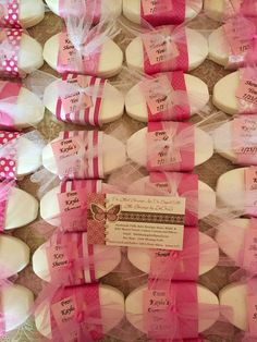 Bridal or Baby Shower Soap Favors
