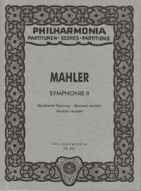 Mahler: Symphony No. 2 in C minor - Study Score. £19.95