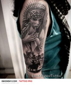 Tattoo by Josu Franch
