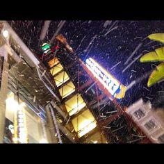 #snow at the #americana http://instagr.am/p/TC9XOgEupQ/