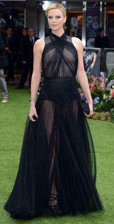sheer black dress - Google Search