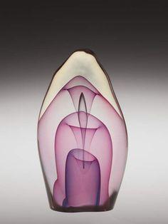 Dominick Labino, at the Corning Museum of Glass ❥ via #martablasco ❥ http://pinterest.com/martablasco/