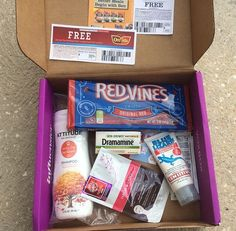 @influenster #nurturevoxbox.  Love all the goodies. #redvines #skinfixed #beginwithben #hadalabask #wevegotyoucovered #oreidaeasyfries