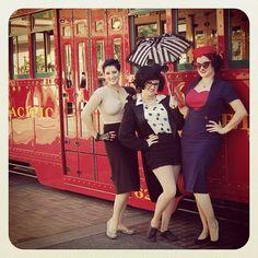 Disneyland Dapper day fall 2012. Wanna go next year!!!