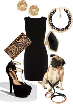 """""""pugggg"""" by meghan18 on Polyvore"""