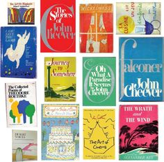 Vintage book covers.