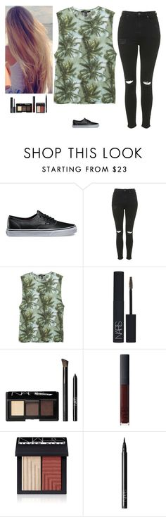 """Untitled #381"" by erin-bittencout ❤ liked on Polyvore featuring Vans, Topshop, NARS Cosmetics, women's clothing, women, female, woman, misses and juniors"