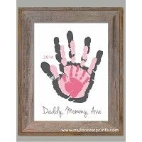 mommy daddy and me handprint - Google Search