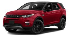 2017 Land Rover Discovery Sport red exterior model