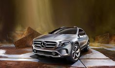 The Concept GLA debuts in Shanghai.