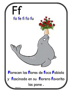 Asombroso alfabeto de aliteracion Posters from Bilingualtreasures on TeachersNotebook.com (29 pages)