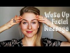 Wake Up Facial Massage. Lymph Drainage and Ear Massage. Ear Massage, Lymphatic Drainage Massage, Massage Tips, Massage Benefits, Facial Massage, Massage Therapy, Face Gym, Facial Yoga, Massage