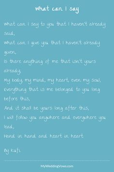 30 Ideas wedding vows that make you cry marriage for 2019 wedding vows 30 Ideas wedding vows that make you cry marriage for 2019 wedding games Romantic Wedding Vows, Wedding Ceremony Script, Wedding Renewal Vows, Funny Wedding Vows, Romantic Birthday, Wedding Rustic, Wedding Vows That Make You Cry, Wedding Vows To Husband, Marriage Vows