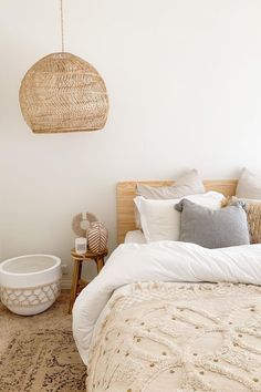 @cottagebythecoast has wowed us with their stunning bedroom. With our Cali Bed Frame at the helm, organic textures and beige hues enhance the natural oak grain for a calming and relaxing space. #bedframe #beds #bedroomfurniture #budgetstyling #bedroom #bedroomideas #bedroomdecor #bedroominspo #bedroominspiration #bedroomidea #interiordesign #homedecor #decor #decoration #interiorstyling #interiorinspo #konmari #mykonmari #hygge #coastal #coastalstyle #coastaldecor #coastaldesign Room Design Bedroom, Room Ideas Bedroom, Home Bedroom, Bedroom Decor, Bed Frame And Headboard, Dream House Interior, Aesthetic Room Decor, Dream Rooms, Room Themes
