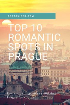 Are you traveling to Prague soon for a romantic holiday? A good choice as Prague in the Czech Republic is one of the most romantic cities in Europe! We've compiled a list of the top 10 romantic things to do in Prague any time of year, even in winter. Romantic Things To Do, Most Romantic Places, European Destination, European Travel, Glamping, Europe Travel Guide, Traveling Europe, Travel Destinations, Cities In Europe
