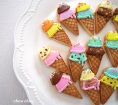 頼まれ物クッキー✨ こちらは60枚作りました😊 まだまだ作らねば💦 頑張ります(*´꒳`*) #安曇野#安曇野市#安曇野市豊科#松本市#塩尻市#アイスクリーム#アイシングクッキー… Ice Cream Cookies, Gluten Free Recipes, Free Food, Biscuits, Cupcakes, Yummy Food, Sugar, Foods, Desserts