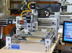 PDJ Pilot Pro CNC affordable router prices for assembled and kit CNC routers Cnc Router Plans, Cnc Lathe, Making Machine, Cnc Machine, Woodworking Shop, Woodworking Plans, Router Projects, Electronics Projects, 5 Axis Cnc