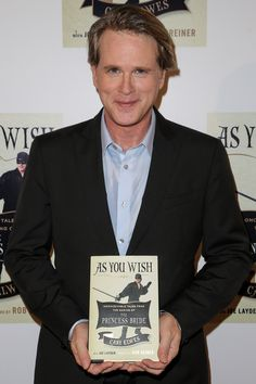 """Cary Elwes - """"Westley"""" on The Princess Bride, and """"Pierre Despereaux"""" on Psych! I Love Books, New Books, Nerd Love, My Love, Princess Bride Quotes, Cary Elwes, Good Movies, Awesome Movies, I Give Up"""