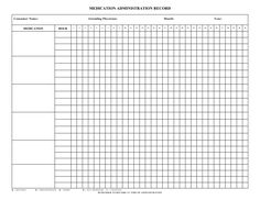 5 best images of free printable medication log sheets haley
