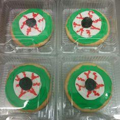 Eyeball sugar cookies