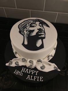 Birthday Decoration Ideas Awesome Birthday Ideas Fresh Tupac Cake for . - Birthday Decoration Ideas Awesome Birthday Ideas Fresh Tupac Cake for An Birthday - 2pac Birthday, 26 Birthday Cake, 18th Birthday Party, Birthday Cake Decorating, Boy Birthday, Birthday Ideas, Birthday Gifts, Cake Designs For Kids, Simple Cake Designs