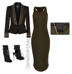 """""""The Dotted Line Of Chic"""" by fashionablyeren ❤ liked on Polyvore"""