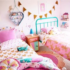 Curtains And Bedding To Match Teen Girl Bedding, Girls Bedding Sets, King Single Bed, King Storage Bed, Bed Photos, Single Quilt, King Bed Frame, Little Girl Rooms, Quilt Bedding