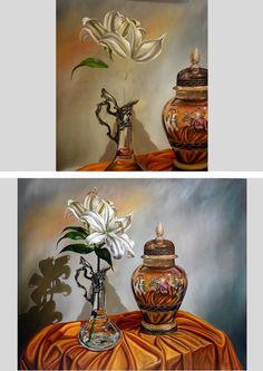 """""""La Dama Cheka"""" 100x120 cm. óleo www.rodolfo-insaurralde.com"""