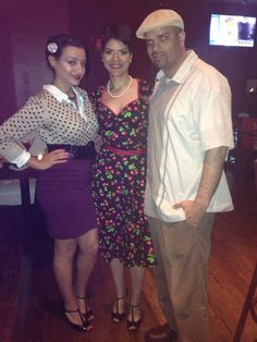 With my children David and Jennifer.