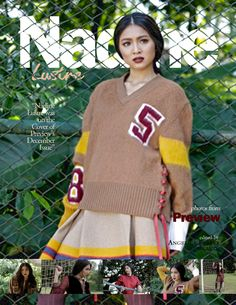 """""""Nadine Lustre was on Preview Magazine's Cover last December 2015."""" James Reid, Nadine Lustre, Jadine, Editing Pictures, Cool Posters, Beautiful Pictures, Cover, December, Articles"""