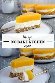 No bake kuchen mit mango - Vegan Cheesecake Recipes Easy Vanilla Cake Recipe, Chocolate Cake Recipe Easy, Chocolate Cookie Recipes, Quick Dessert Recipes, Easy Cheesecake Recipes, Easy Cookie Recipes, Cake Recipes Vegan, Raw Vegan Cheesecake, Mango Dessert Recipes