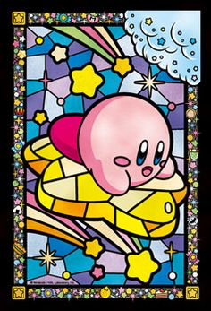 Art Crystal Jigsaw - Hoshi no Kirby: KiraKira Star Ride