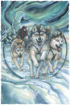Bergsma Gallery   Bergsma Gallery Press :: Paintings :: Natural Elements :: Wild Land ...